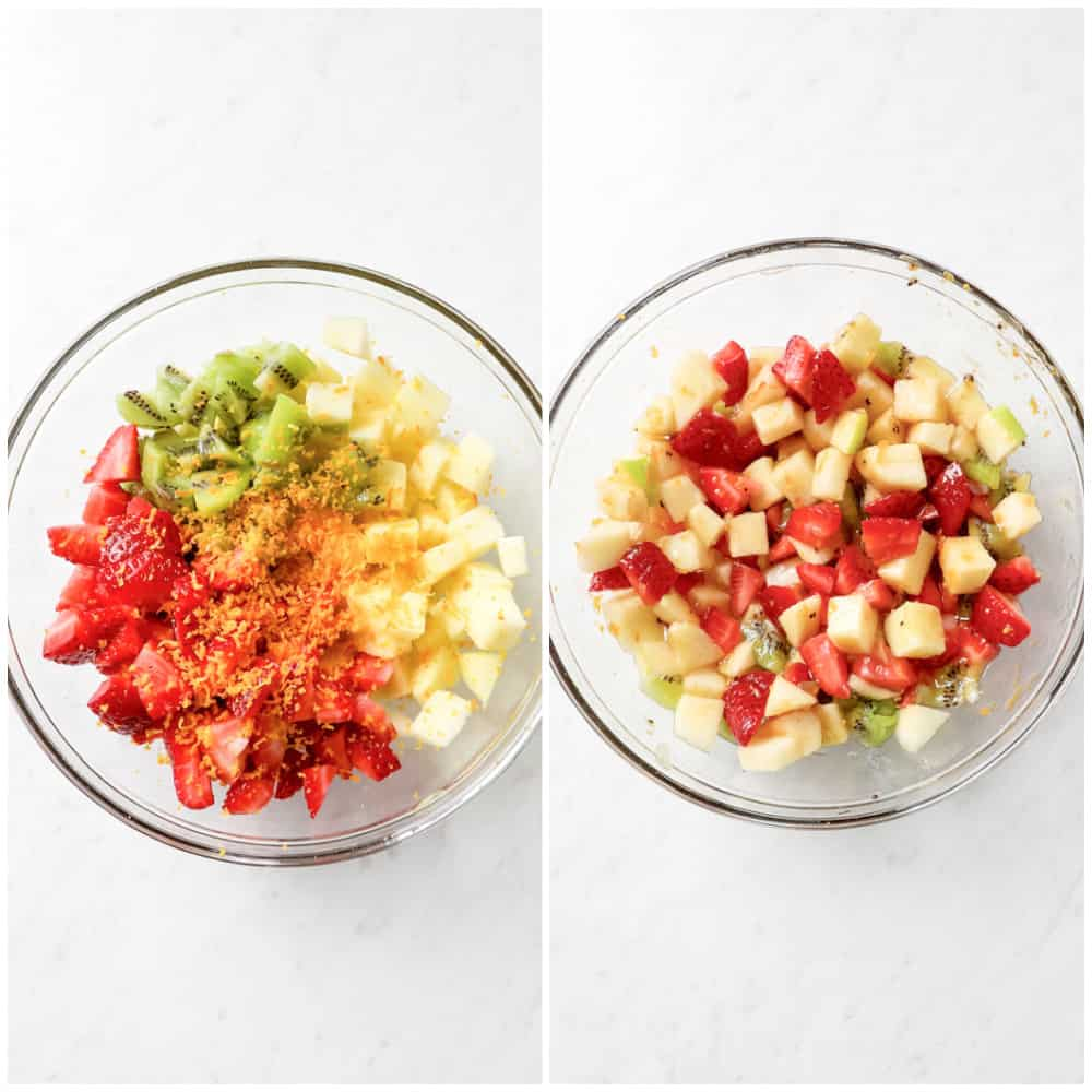 how to make fruit salsa