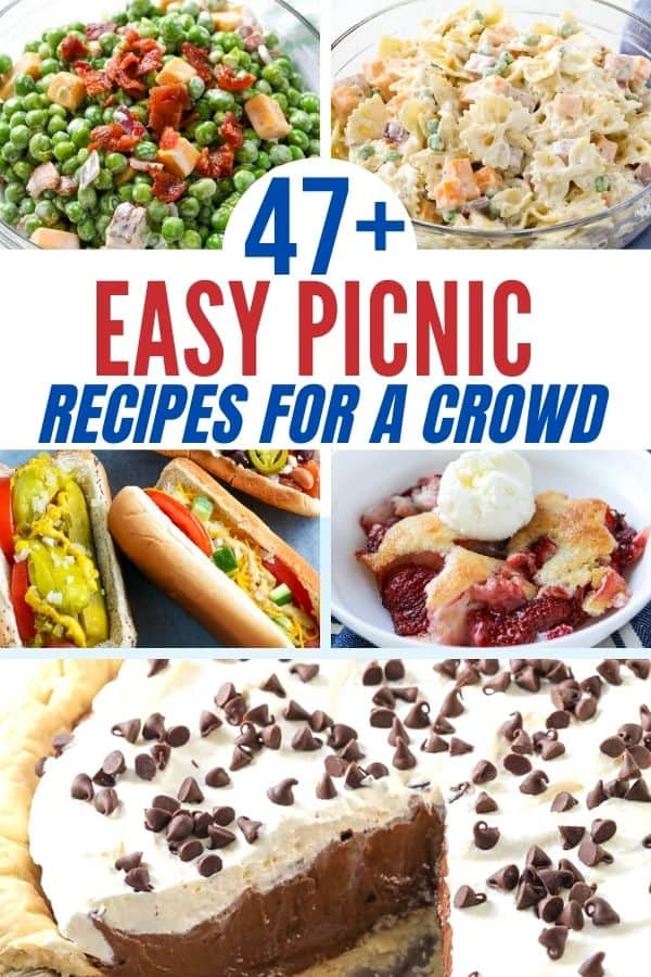 47+ Easy Picnic Recipes For A Crowd