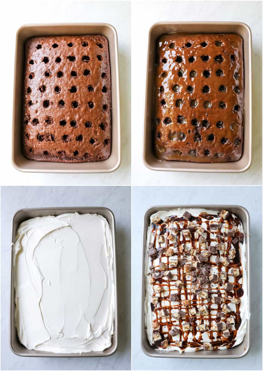 steps for how to make a poke cake