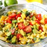 Corn, Avocado & Cilantro Salad