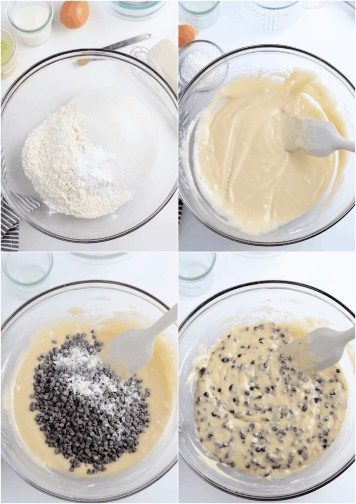steps for making chocolate chip cookies