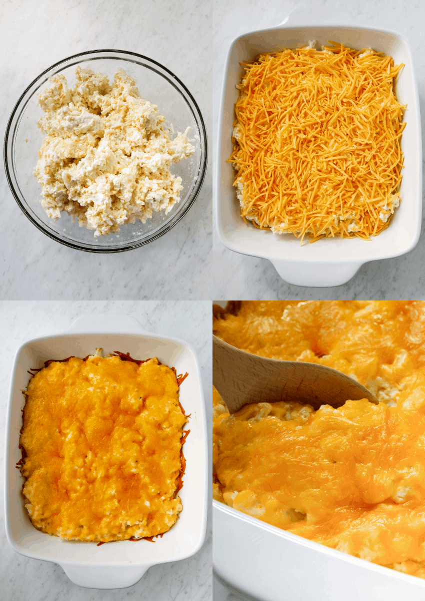 steps to make hashbrown casserole